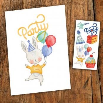 Carte De Souhait - Party - Pico