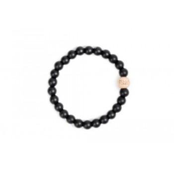 Bracelet De Dentition Maman - Bakersfield Noir - Bella Tunno