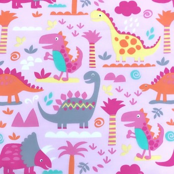 Protege Carnet De Sante - #151 Dinosaure Rose Oops
