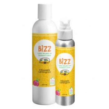Lotion de Plein-air Bizz 125ml Citronelle - Pissenlit & Coccinelle