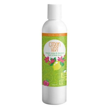 Citron Vert Savon Corps & Cheveux 500ml - Pissenli