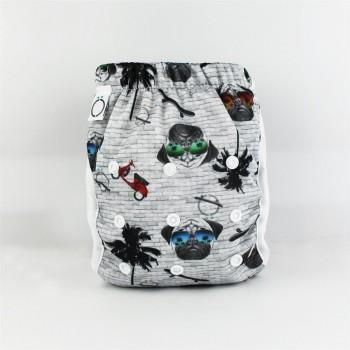 Couche-maillot Pugs - Omaiki