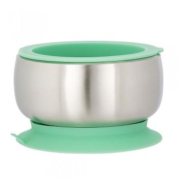 Bol en Inox avec Couvercle - Vert - Avanchy