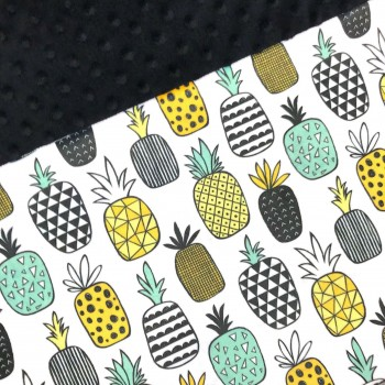 Couverture Minky - Ananas Fun - Oops