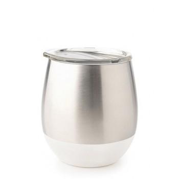 Verre Isotherme En Inox 8oz - Blanc - U-konserve