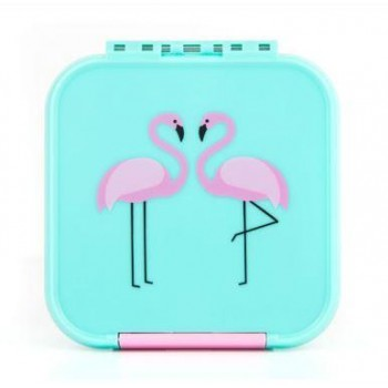 Bento 3 Compartiments - Flammand Rose - Little Lunch Box