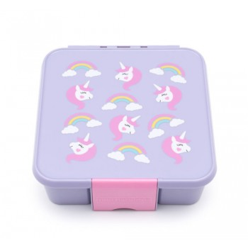 Bento 5 Compartiments - Licorne - Little Lunch Box