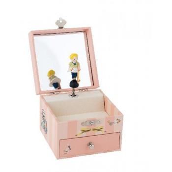 Boîte à Musique / bijoux -  Les Parisiennes - Moulin Roty