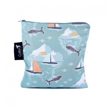 Sac A Collation (sandwich) - Large - Baleine - Col