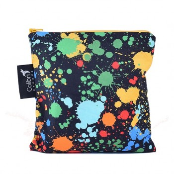 Sac à Collation (sandwich) - Large - Éclabousser - Splatter - Colibri