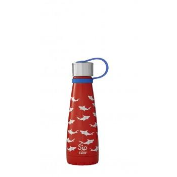 Bouteille Isotherme En Acier Inox 10oz - Requins - S'ip S'Well
