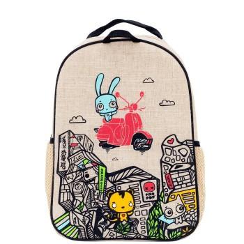 Sac à dos pour l'école - Pixopop Voyage - Soyoung