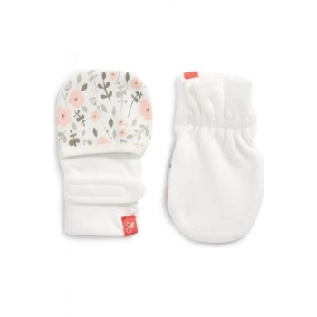 Mitaines Anti-égratignures - Jardin Rose 0-3m - Goumimitts