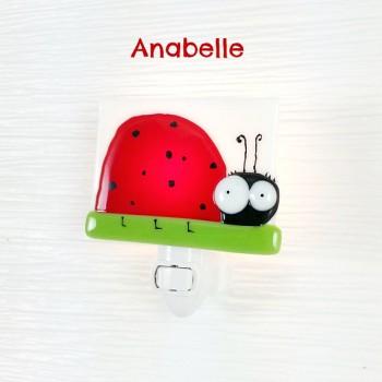 Veilleuse - Anabelle Coccinelle - Veille Sur Toi