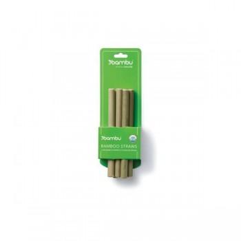 Paille en Bambou Petite Pqt/6 - Bambu