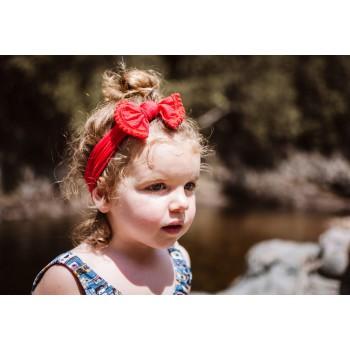 Bandeau Pom Pom Rouge - Baby Wisp