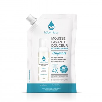 Mousse Cheveux & Corps 1L. - Bebe Hibou
