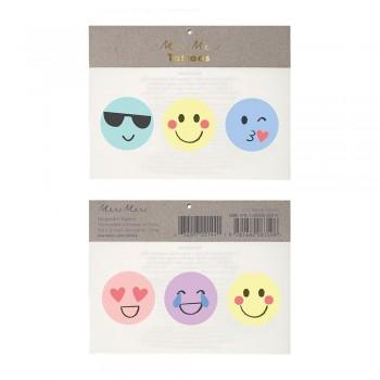 Tatouage Éphémère - Emoji - Meri Meri