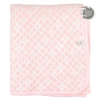 Couverture Bambou - Diamant Rose - Perlimpinpin