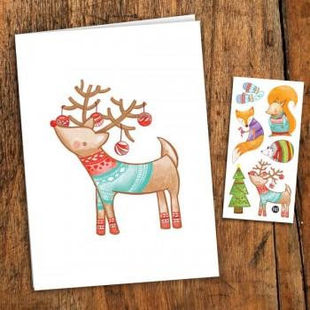 Carte de Souhait - Noël - Pico