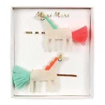 Pinces À Cheveux - Licorne 2/pqt - Meri Meri