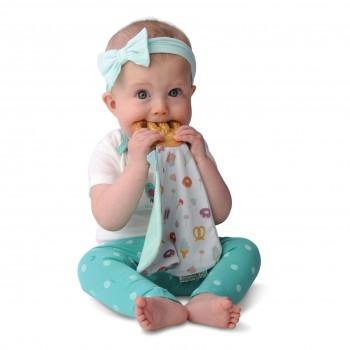 Doudou & Jouet Dentition - Munch-it Blanket - Pretzel - Malarkey Kids