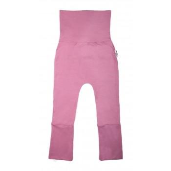 Pantalon évolutif (6-36m) Rose Poudre - Coton Vanille