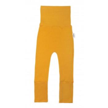 Pantalon évolutif (6-36m) Moutarde - Coton Vanille