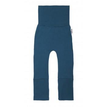 Pantalon évolutif (6-36m) Bleu Sarcelle - Coton Vanille