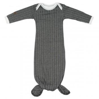 Dormeuse Nightie 0-3m - bas de laine Noir - Juddlies
