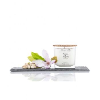 Bougie au Soja 420ml - Pistache Magnolia - Blanc Soja