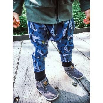 Pantalon évolutif - Loups 0-12m - Nine9