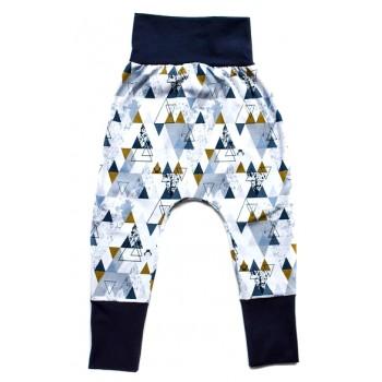 Pantalon évolutif - Triangles 0-12m - Nine9