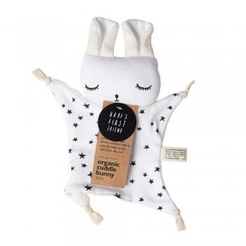 Doudou Coton Biologique - Lapin Stars - Wee Gallery