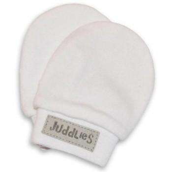 Mitaines Anti-égratignures - Blanc - 2 paires/Pqt - Juddlies