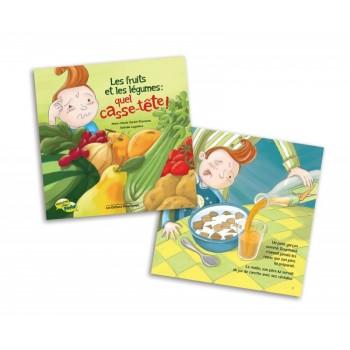 Livre - Les Fruits et Les Légumes: Quel Casse-tête!