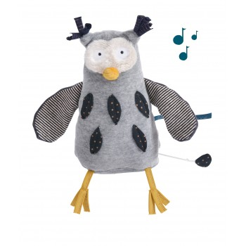 Toutou Musical - Moustaches Hibou - Moulin Roty