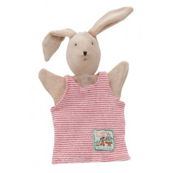 Marionnette - Grande Famille Sylvain Le Lapin - Moulin Roty