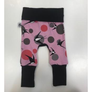 Pantalon évolutif 0-12m - Hirondelle - G&B