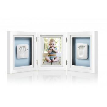 Cadre De Bureau Avec Photo Et Empreintes - Pearhea