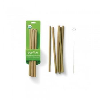 Paille en Bambou Pqt/6 - Bambu