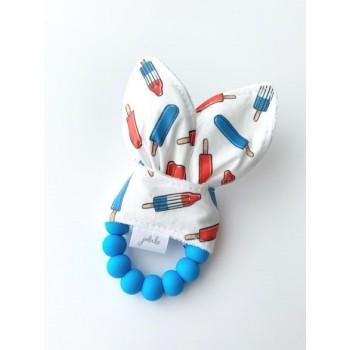 Hochet Dentition - Pops Bleus - Jululu