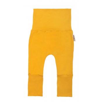 Pantalon évolutif (0-12m) Moutarde - Coton Vanille