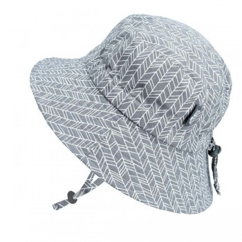 Chapeau - Gris Herringbone - Jan & Jul