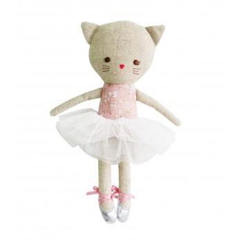 Peluche Odette La Ballerine Chat 25cm