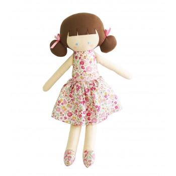 Poupée Audrey avec robe Jardin Rose 50cm
