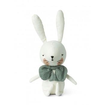 Peluche Picca Loulou - Lapin Blanc dans sa Boîte Cadeau