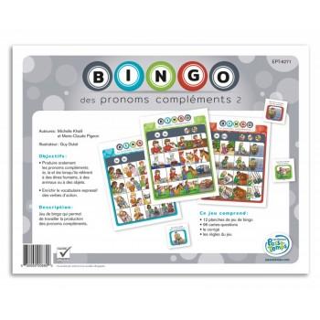 Bingo des pronoms compléments 2