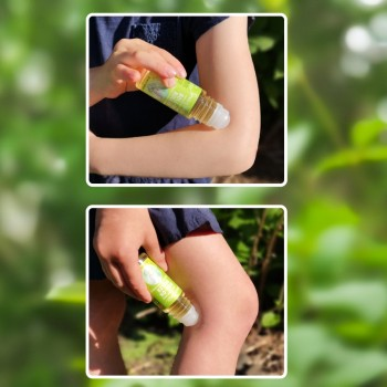 Roll-on Roller - Bouclier à Insectes Naturel 25ml - Souris Verte