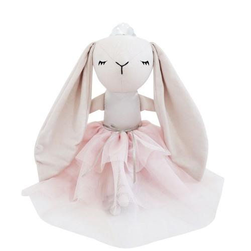 Peluche - Princesse Lapin Rose 14